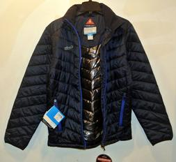 Columbia Melting Point Jacket Mens abyss/azul