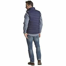 Nuvano Men's Big/Tall Puffer Vest - Navy Blue - Size: 2XLarg