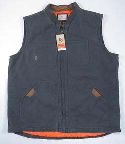 Legendary Whitetails Men's Canvas Cross Trail Charcoal Vest