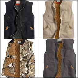 Legendary Whitetails Men's Canvas Cross Trail Vest Small-Xxx