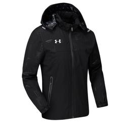 Under Armour Men's Full Zip Coat Training Hooded Jacket Wate