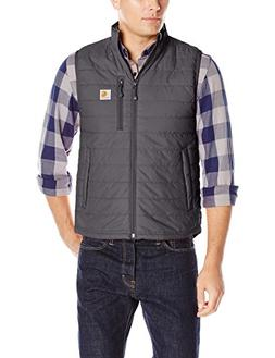 Carhartt Men's Gilliam Vest, Black, X-Large