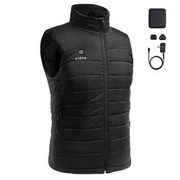 ororo Men's Lightweight Heated Vest with Battery Pack X-Larg