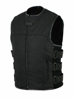 Men's Textile Tactical SWAT Cordura Vest With Concealed Pock