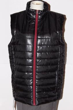 MEN'S QUILTED SLALOM LIGHT WEIGHT ZIP UP WINTER SKI VEST MED