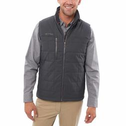 Orvis Men's Quilted Nylon Vest - GRAY  * FAST SHIPPING *