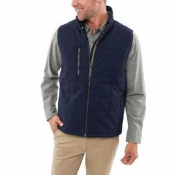 Orvis Men's Quilted Vest Classic Fit Great for Layering Navy