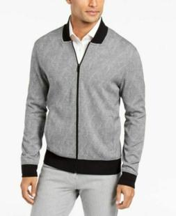 Alfani Men's Reversible Stretch Outerwear Black/Gray Jacket,