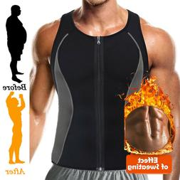 Men's Sauna Sweat Vest Body Shapewear Thermo Waist Trainer G
