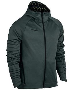 Nike Men's Therma Sphere Max Zip Training Hoodie Vintage Gre