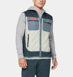 Men's Under Armour UA Trek Polar Fleece Vest 1355100 073 Lar