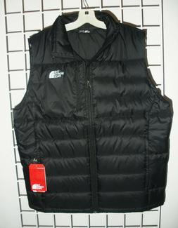 The North Face Mens Aconcagua Down Vest in Tnf Black -  Size