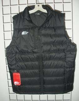 The North Face Mens Aconcagua Vest in Tnf Black- 550 Fill Do