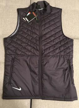 Mens Nike AeroLayer Running Vest AH0546 081 Training Gym Jac