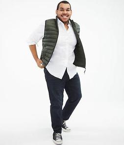 aeropostale mens quilted puffer vest