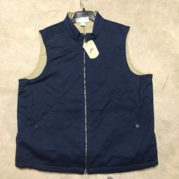 mens tommy bahama top sail reversible quilted vest jacket