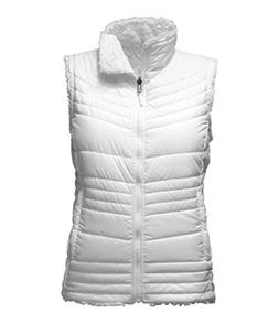 The North Face Women's Mossbud Swirl Vest - TNF White - XL