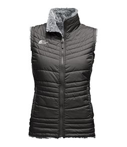 The North Face Women's Mossbud Swirl Vest - Asphalt Grey & M