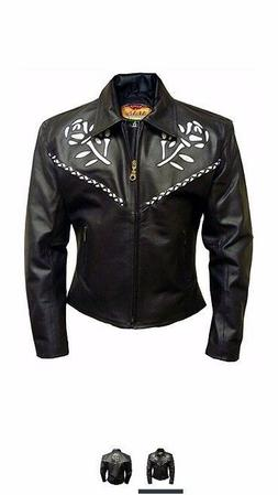 Motorcycle Accessories For Women Womens Leather Ladies Black