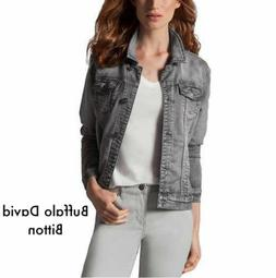 NEW! Buffalo David Bitton Ladies' Stretch Knit Denim Jacket
