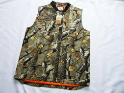 NEW Legendary Whitetails Men's Canvas Cross Trail Vest Big G