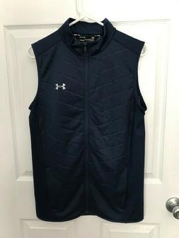 New Men's Under Armour Cold Gear Reactor Sleeveless Golf Ves