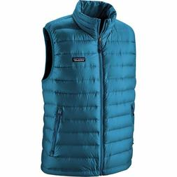 NEW Patagonia Men's Down Sweater Vest Size XL Blue Retail