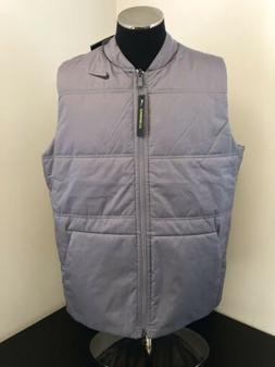 New Men's Medium Nike Golf Vest Reversible Synthetic Fill