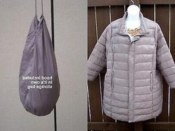 Woman Within NEW quilted coat jacket puffer plus size 3x 4x
