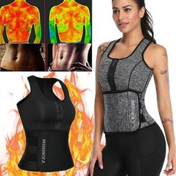 NEW Sport Sauna Sweat Waist Trainer Slimming Body Shaper Ves