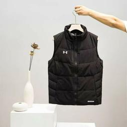 New With Tags Under Armour Men's Down Puffer Vest Heating Ja