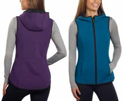 NEW!! Gerry Women's Lightweight Hooded Knit Vest Variety