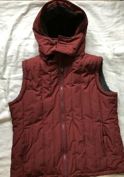 New XL Wantdo Mens Puffer Quilted Vest Jacket Fleece Lined R