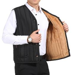 Newly Fashion Men Father Dads Fleece <font><b>Vest</b></font