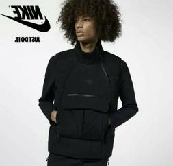 Nike Sportswear Tech Pack Down-Fill Vest Stucco Black Gilet