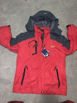NWT Mens Sz Small Red Wantdo Windproof &resistant Jacket Fle