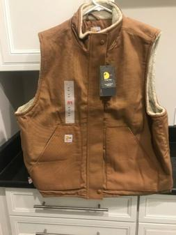 NWT Carhartt FR Quick Duck Insulated Vest LARGE NEW!!!