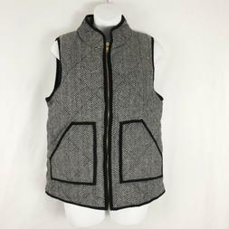 Nwt MEROKEETY Women's Puffer Vest Size Small Multi Color Her