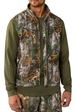 NWTs Men's Carhartt Buckfield INSULATED Camo Vest Large Tall