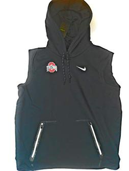NEW Ohio State Buckeyes OSU Nike Dri-Fit Therma Hoodie Vest
