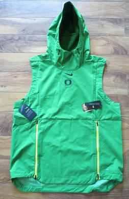 Nike Oregon Ducks 2018 Shield Hoodie Vest  Mens NEW $150 Ret