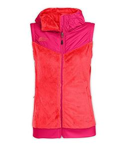 The North Face Oso Hooded Fleece Vest - Women's Rambutan Pin