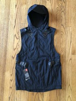 Under Armour Perpetual Running Vest Half Zip Fitted Hooded M