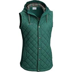 Columbia Pilsner Peak Vest, Large, Dark Ivy Heather