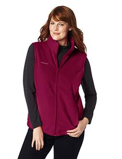 Columbia Women's Plus-Size Benton Springs Vest Plus, Dark Ra