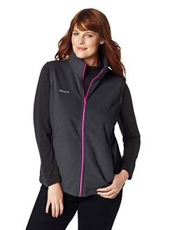 Columbia Women's Plus Size Benton Springs Vest, Black, Deep