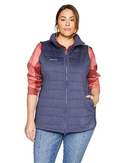 Columbia Women's Plus Size Place Vest, Nocturnal, 1X