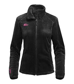 The North Face Women's Pink Ribbon Osito 2 Jacket TNF Black