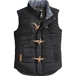 Legendary Whitetails Ladies Quilted Vest Black Medium