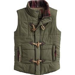 Legendary Whitetails Ladies Quilted Vest Army Medium